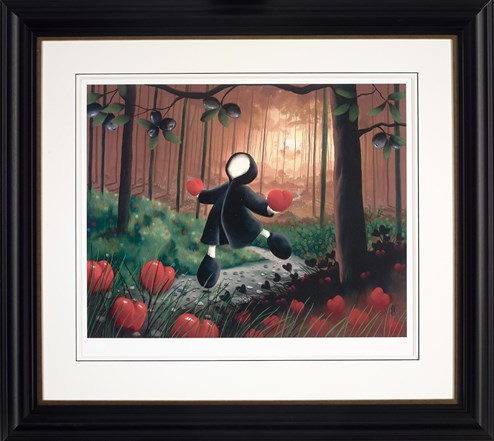 So Much Love by Mackenzie Thorpe - Framed Limited Edition on Paper